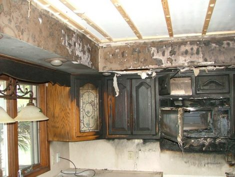 Kitchen Fire Swartz Contracting
