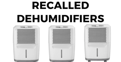 Recalled Dehumidifiers