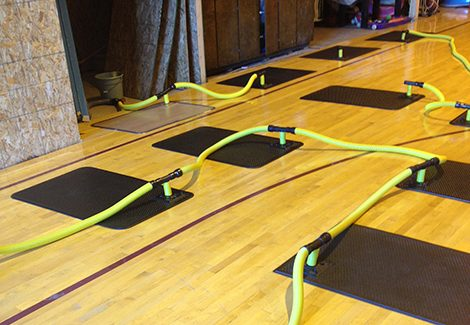 Hardwood Floor Drying System