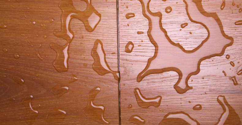laminate flooring water damage