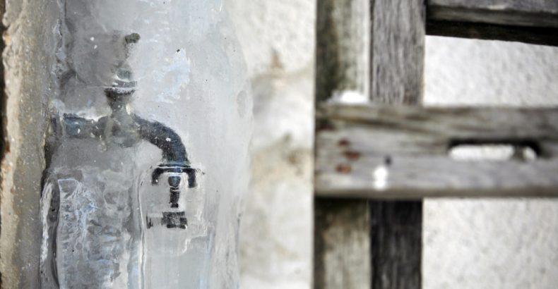 frozen spigot