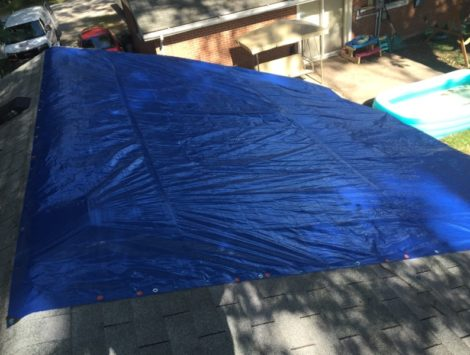 emergency roof tarp