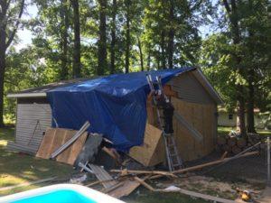 emergency roof tarp