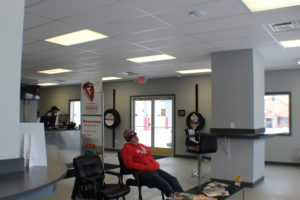 commercial remodel lobby after