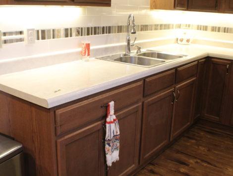 fire damage restoration basement kitchen after