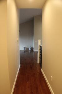 fire damage restoration complete rebuild hallway after