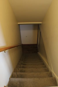 fire damage restoration stairs after