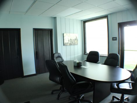 commercial remodel conference room after