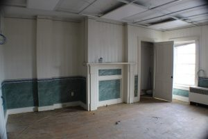 commercial remodel office before