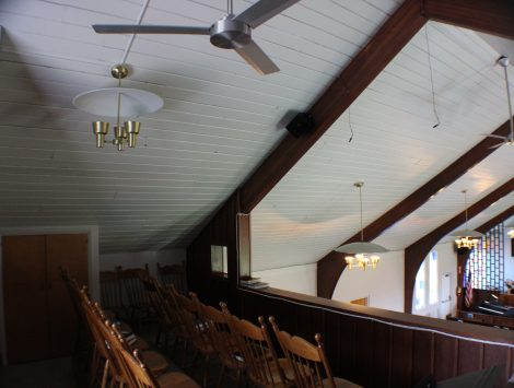 swartz contracting and emergency services fire damage Choir Loft After (1)