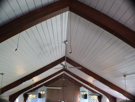 swartz contracting and emergency services fire damage Choir Loft After (6)