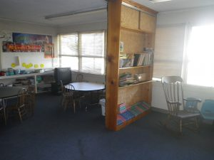 swartz contracting and emergency services fire damage before classroom A 4