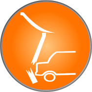 vehicle impact icon